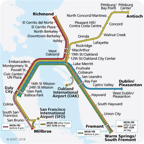 bart station map bay area rapid transit bart gov