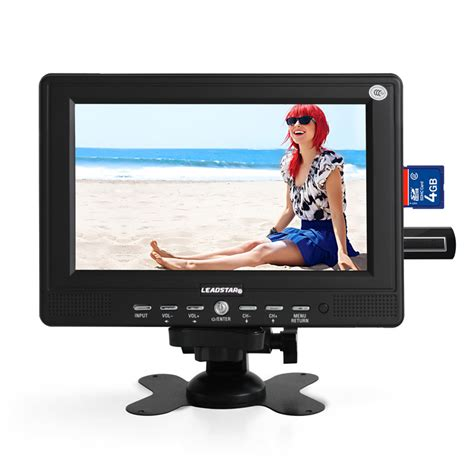 Tv Tabung 7 Inch fashion small portable 7inch hd tv led display 428 234 av tv usb no operating system mini wide