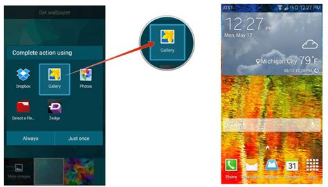 zedge wallpaper galaxy s5 how to change your wallpaper on the samsung galaxy s5