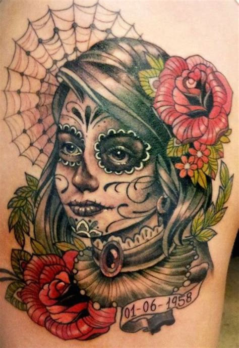 day of the dead tattoo design 166 best day of the dead tattoos