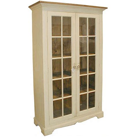country bookcase made in country style of