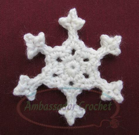 crochet snowflake pattern beginner crochet patterns free snowflakes manet for