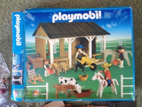 Scheune Playmobil by Playmobil Set 1 3963 Ant Farm Barn Klickypedia