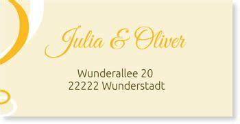Adressaufkleber Hochzeit by Adressaufkleber Hochzeit Versandfertig In 24 Stunden