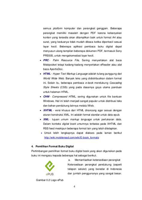format buku digital pdf buku digital e pub