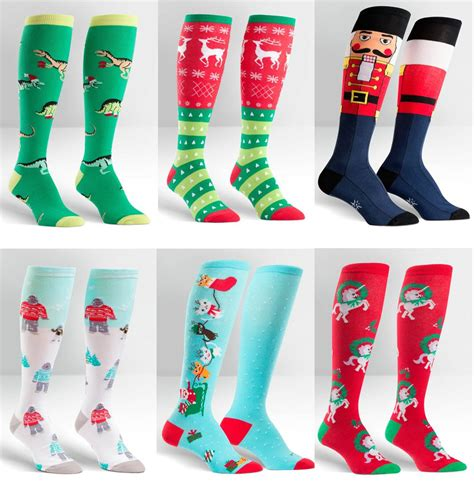 7 Funky Socks And Tights by Sock It To Me E7 Knee High Funky Socks