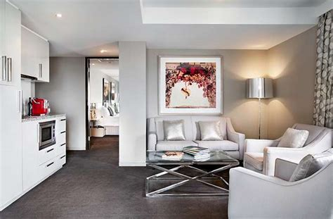 2 bedroom suite melbourne luxury accommodation two bedroom deluxe balcony suite