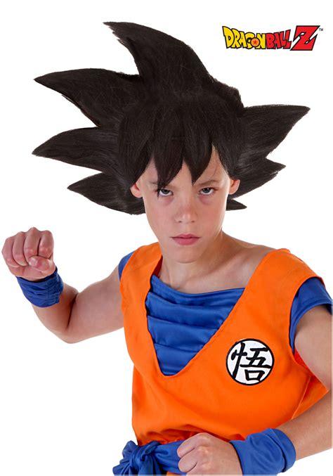 Kids Halloween Costumes Sale Child Goku Wig