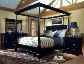 Black Canopy Bedroom Furniture Sets Black Bedroom Sets Master Bedroom Design Ideas