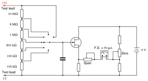 fet transistor manual rf voltmeter schematic rf free engine image for user manual
