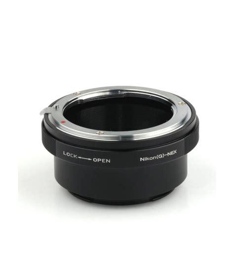 Lens Mount Adapter For Nikon G Lens To Sony E Mount pixco lens adapter for nikon g lens to sony e mount adapter price in india buy pixco lens