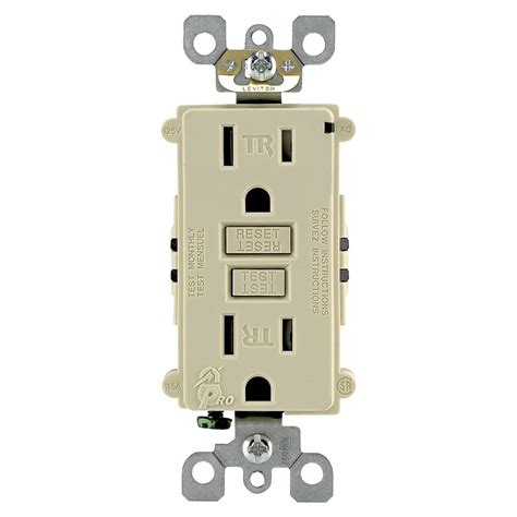 Leviton L Parts by Index Buy Oem Ivory 20 Ter Resistant Gfci