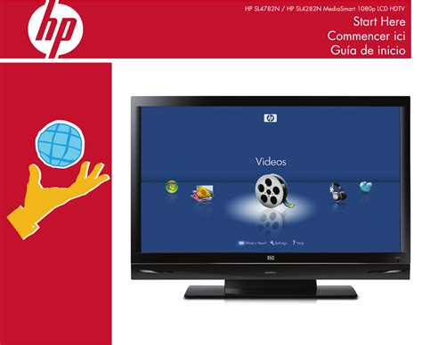 Tv Hp hp hewlett packard flat panel television hp sl4282n user guide manualsonline