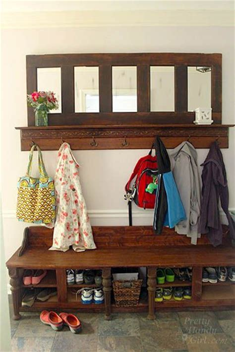 Mudroom Bench And Coat Rack 33 Best Images About Mudroom Ideas On