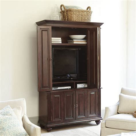 slim armoire slim chadwick media armoire lighting ballard designs