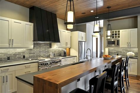 Kitchens Without Islands by 49 Impressive Kitchen Island Design Ideas Top Home Designs