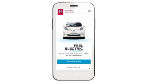 Nissan Leaf App by Nissan Leaf Electric Car Hatchback Nissan