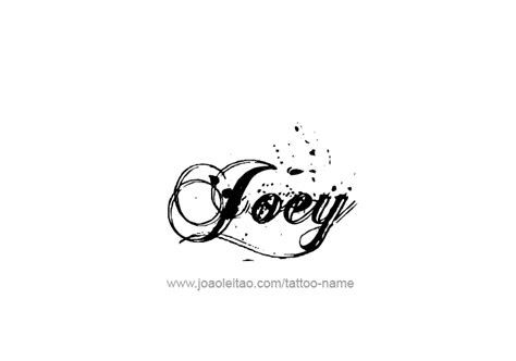 joey name designs
