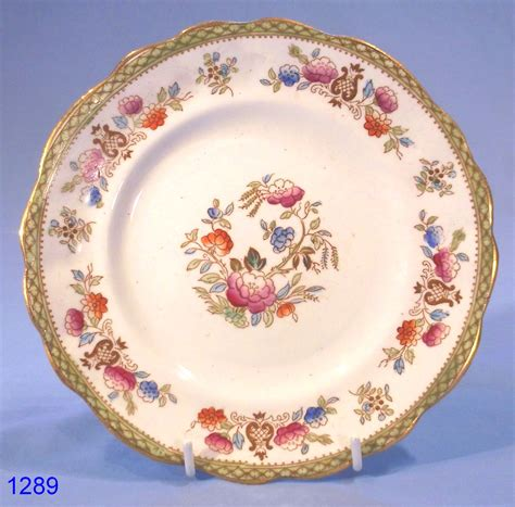 Antique Victorian Vases Victorian Hand Painted Vintage Bone China Tea Plate Sold
