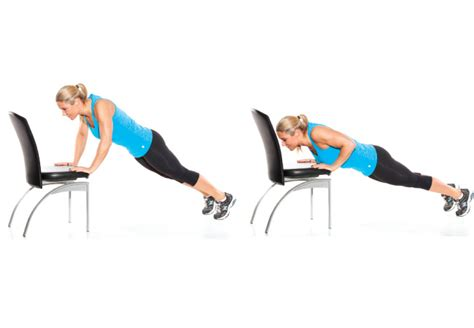 Chair Push Ups by 6 Exercises You Can Do At Work To Burn Tone Up