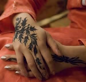 Cute hand female tattoo