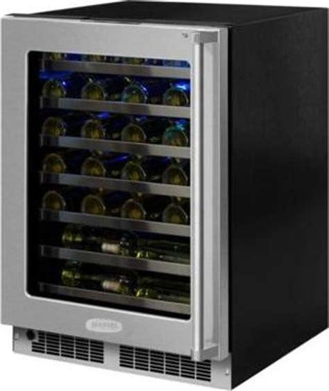 cabinet mount wine cooler mp24wsf5lp marvel 24 quot undercounter wine cooler flush
