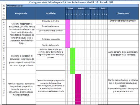 unadm cronograma de actividades diarias cronograma de actividades diarias images