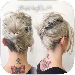 directions for easy updos for medium hair 60 updos for short hair your creative short hair inspiration
