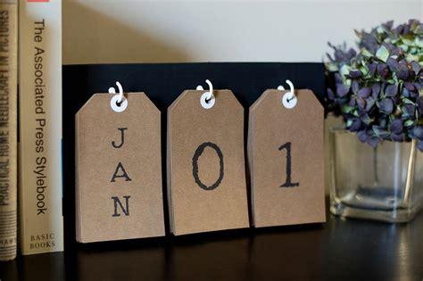 how to make perpetual calendar make a perpetual calendar for the new year diy network