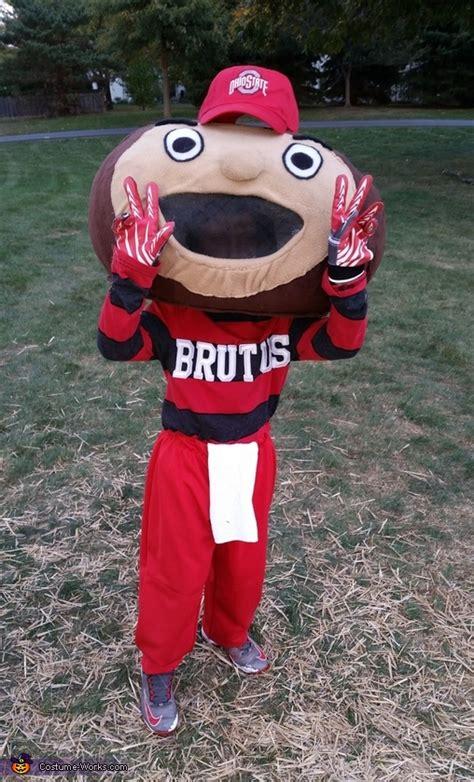 homemade brutus buckeye costume