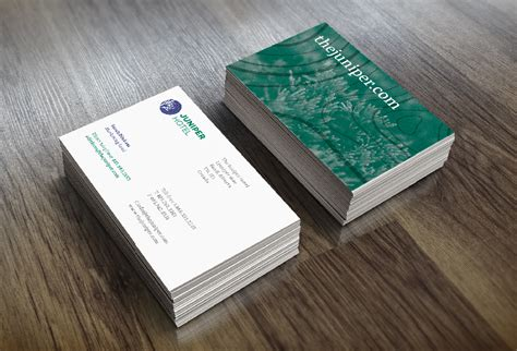 juniper business card template juniper business card gallery business card template