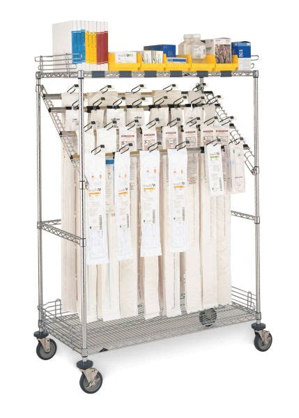 Shelf Procedure by Metro Shelving Products Catheter Procedure Carts