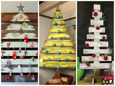 xmas pallet decor pallet christmas tree ideas creative diy christmas