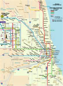 chicago highway map chicago road map flickr photo