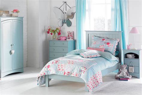 Baby Blue Girls Bedroom Ideas Furniture Wallpaper Accessories Houseandgarden Co Uk