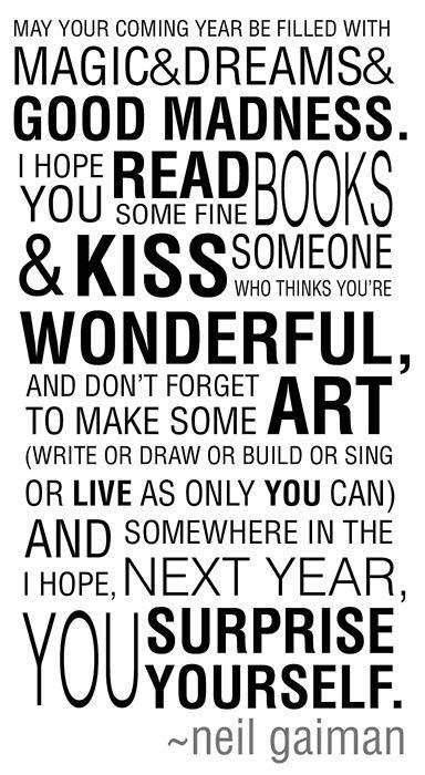 neil gaiman s journal on new year s eve where i am