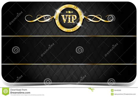 Premium Vip Card Royalty Free Stock Photo   Image: 36430285