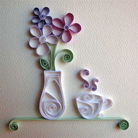 Crafts With Paper - siew mai origami quilling