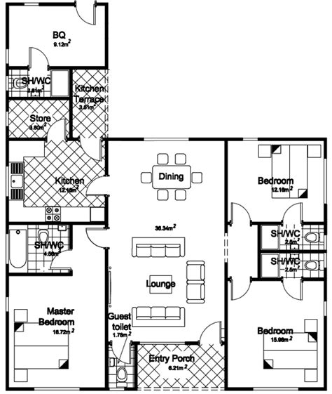 three bedroom bungalow floor plan 3 bedroom house plans in nigeria savae org