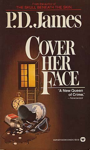 libro cover her face inspector cover her face by p d james fictiondb