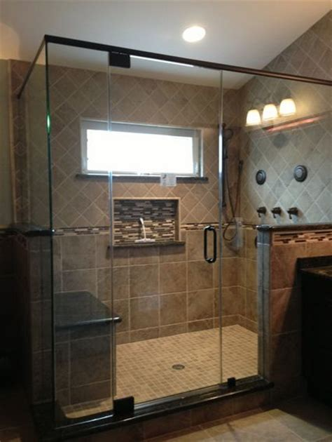 broken down in bars and bathrooms 17 best images about semi frameless shower doors on