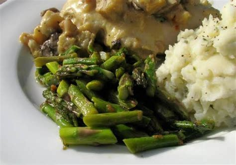 Springtime Side Sauteed Asparagus by Sauteed Asparagus Recipe Just A Pinch Recipes