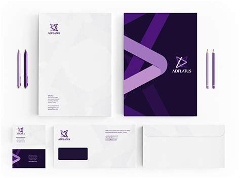 branding design study adflatus identity on pantone canvas gallery