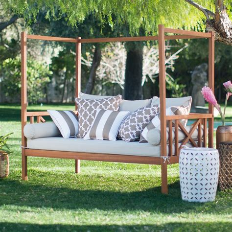 Outdoor Bed by Belham Living Brighton Outdoor Daybed At Hayneedle