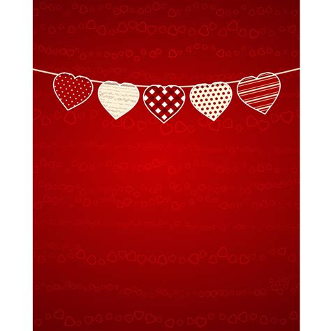 valentines backdrops s day bunting printed backdrop backdrop express