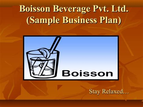 For Business 1 Rachmell Vazokiray Limited sle business plan food beverage
