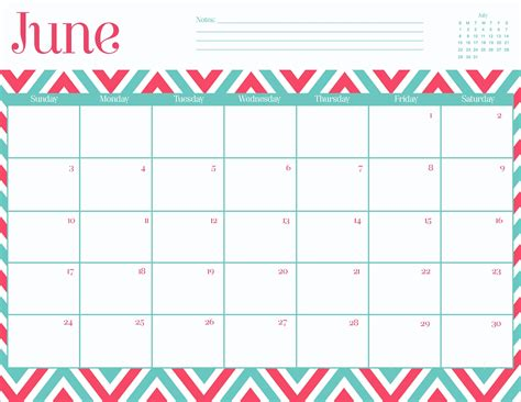 printable day planner june 2015 8 best images of cute printable calendars june 2015 cute