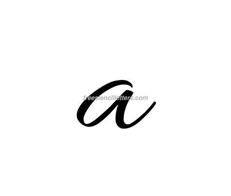 A Small print small a letter stencil free stencil letters