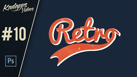 vintage logo design photoshop tutorial 30 typographic tutorials resources and freebies