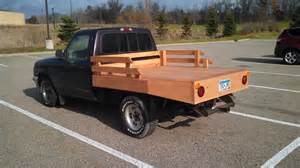 Ford Ranger Flatbed Custom Wood Flatbed Phoax Ranger Forums The Ultimate